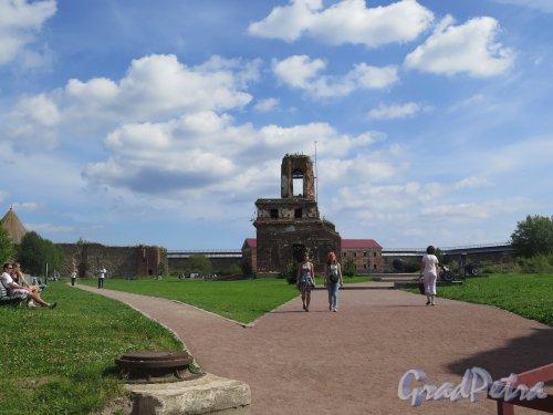 Шлиссельбург, г. Крепость Орешек. Внутренняя территория крепости. фото август 2015 г.