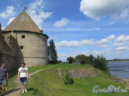Шлиссельбург, г. Крепость Орешек. Королевская (Нарышкина) башня, 1686-97, строитель Эрик Дальберг. фото август 2015 г.