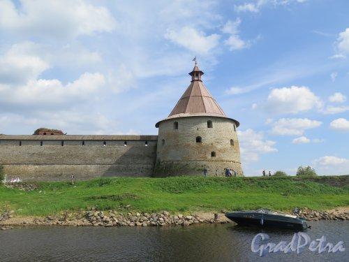 Шлиссельбург, г. Крепость Орешек. Головина башня. фото август 2015 г