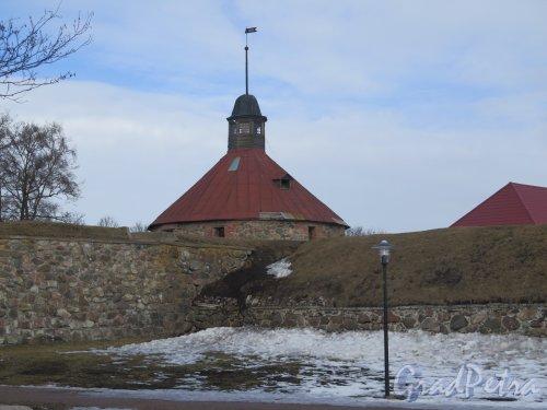 Крепость Корела. Пугачевская башня. фото март 2016 г.