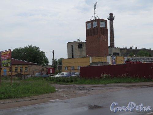 Деревня Оржицы, д. 4. Административно-производственный участок. фото июнь 2016 г.