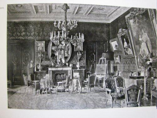 Усадьба «Гостилицы». Интерьеры дворца. Фото начала XIX в.