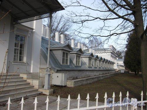 Елагин остров, д. 2. Елагиноостровский дворец. Оранжерея. фото апрель 2011 г.