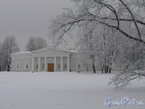 Елагин остров, д. 4. Елагиноостровский дворец. Кухонный остров. Фото январь 2010 г