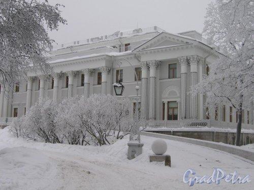 Елагин остров, д. 4. Елагиноостровский дворец. Фото январ 2010 г