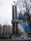 Памятный знак героям Нарвской Заставы на пр. Стачек. Общий вид. Фото февраль 2014 г.