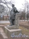 Г. Пушкин. Памятник А.С. Пушкину на Октябрьском бульваре. Фото 1 марта 2014 г.