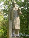 Памятник Ленину в поселке Дружная горка. Фото 2 августа 2014 года.
