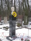 Захоронение Н.П. Пивоваровой на Богословском владбище. Фото февраль 2014 г.