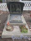 Захоронение Г. Полякова на Мартышкинском братском захоронение в городе Ломоносов. Фото 7 марта 2014 г.