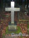 Захоронение J.Jtzkewitsch на Волковском Лютеранском кладбище. Фото 11 ноября 2014 г.