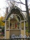 Пос. Стрельна, Стрельнинское кладбище. Молельня. Фото 16 октября 2014 г.