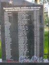 г. Петергоф. Памятная стелла выпускникам ВОКУ, погибшие в Афганистане при выполнении интернационального долга, около дома 25 по Константиновской ул. Фото 8 июня 2014 г.