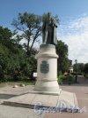 Памятник Иоанису Каподистрия на Греческой пл. Общий вид в фас. Фото июнь 2014 г.