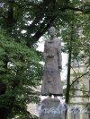 Памятник Коста Хетагурову в Саду Академии Художеств, 2009, Ск. В.Б. Соскиев. Фигура писателя. фото сентябрь 2016 г.
