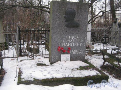 Богословское кладбище. Захоронение семьи Пилипенко. Фото февраль 2014 г.