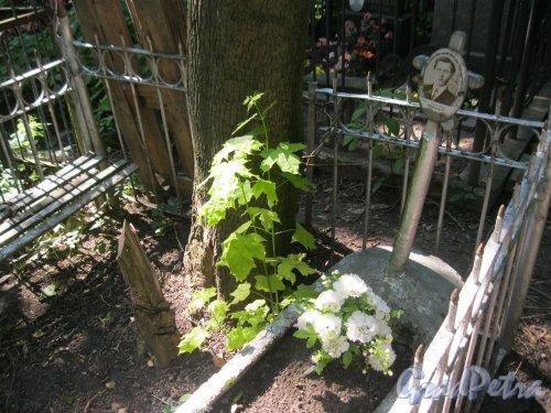 Красненькое кладбище. Захоронение Ивана Сергеевича Мальцева. Фото 6 августа 2015 г.
