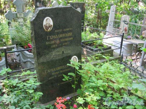 Красненькое кладбище. Захоронение В.М. и М.Я. Гарвалинских. Фото 6 августа 2015 г.