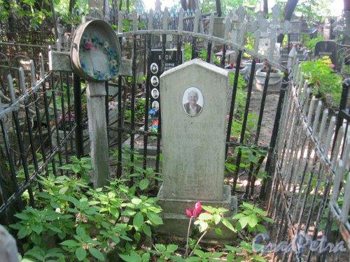 Красненькое кладбище. Захоронение А.Д. Синкевич. Фото 6 августа 2015 г.