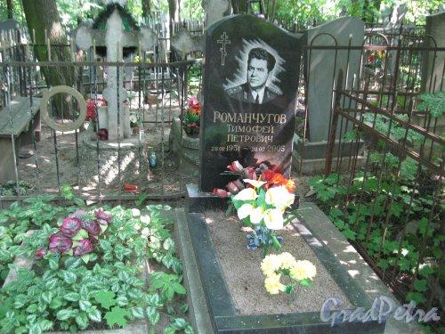 Красненькое кладбище. Одно из захоронений. Фото 6 августа 2015 г.