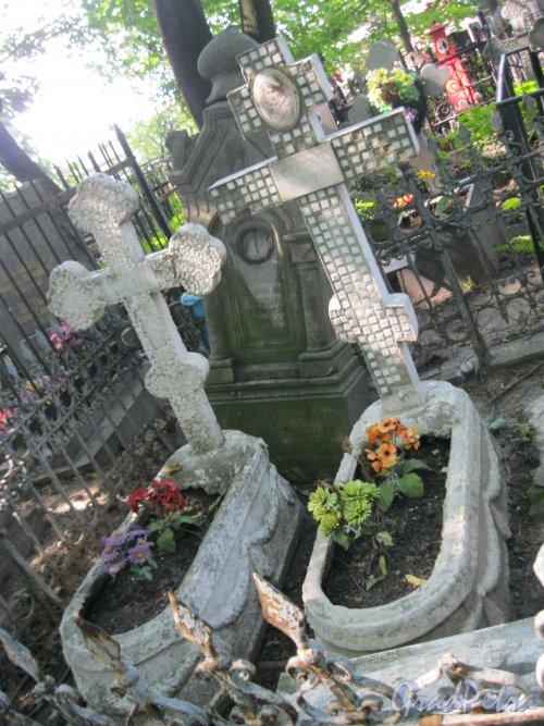 Красненькое кладбище. Захоронение О.С. Шмахтенковой. Фото 6 августа 2015 г.