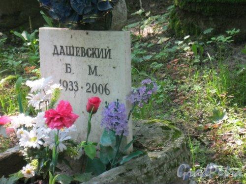 Красненькое кладбище. Захоронение Б.М. Дашевского. Фото 6 августа 2015 г.