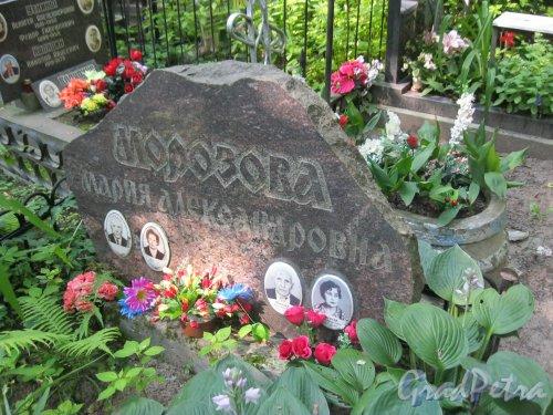 Красненькое кладбище. Захоронение семьи Кеслер и М.А. Морозовой. Фото 6 августа 2015 г.