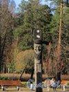парк Сосновка. Площадка Чансын. Скульптурное изображение древнего корейского духа. Фото 26 марта 2014 года.