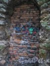 Посёлок Стрельна, Орловский парк. Башня-развалина. Фрагмент. Фото 14 октября 2014 г.