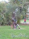 Ботанический сад, Современная скульптура в Саду. фото сентябрь 2014 г.