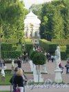 Екатерининский парк (Пушкин). Вид на Павильон Эрмитаж, 1749-1754, арх. Ф.Б. Растрелли. фото сентябрь 2015 г