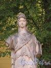 Павловский парк. Статуя Афины Паллады у садового фасада Дворца. фото июнь 2016 г.