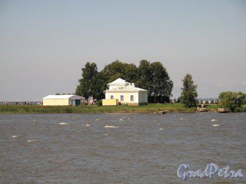 Нижний парк (Петергоф). Музей Яхт. Фото август 2011 г.
