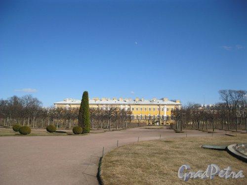 г. Петергоф, Верхний парк. Фрагмент. Фото 9 апреля 2014 г.