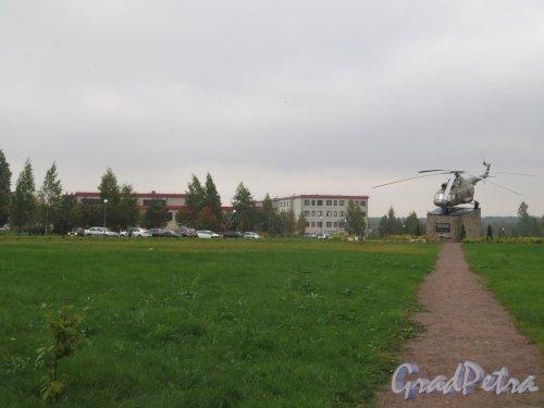 Парк Авиаторов в пос. Агалатово (Всеволожский район). Общий вид. фото сентябрь 2015 г.