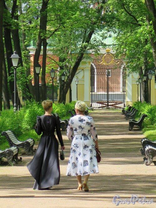 Парк Каменноостровского дворца. Неспешная прогулка по парку. фото март 2016 г.