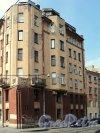 Дегтярный пер., д. 18 / Заячий пер., д. 6. Фасад по Дегтярному переулку. Фото август 2010 г.