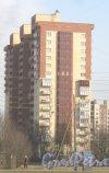 Моравский пер., дом 3, корпус 2. Общий вид с Бухарестской ул. Фото 28 февраля 2014 г.