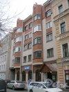 Дерптский пер., дом 7. Общий вид со стороны фасада. Фото 26 октября 2014 г.