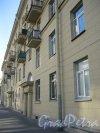 Перевозный пер., дом 9. Фасад по Перевозному переулку. Фото 18 сентября 2014 г.