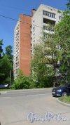 Альпийский переулок, дом 6. 9-этажный жилой дом серии 1-528кп40 1968 года постройки. 1 парадная, 45 квартир. Фото 21 мая 2018 года.