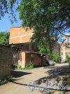 Рыбный пер. (Выборг), д. 4. Многоквартирный жилой дом. Боковой фасад. фото май 2016 г