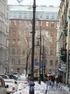 Лиговский переулок. Вид переулка от Лиговского проспекта в сторону Пушкинского сквера. фото март 2018 г.