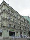 Тележный переулок, дом 2 / Невский проспект, дом 150. Фасад вдоль Тележного переулка. Фото 7 мая 2020 г.