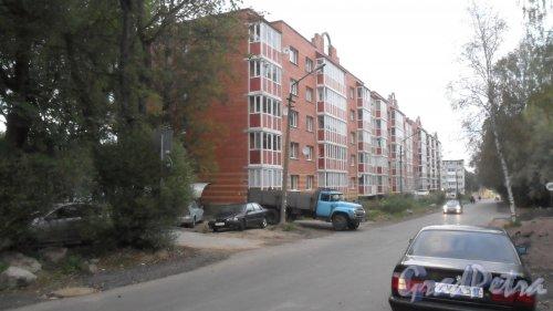 Поселок Рощино, Садовый переулок, дом 6. Фото 15 сентября 2014 года.