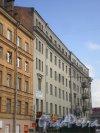 Сытнинская пл., д. 1 / Кронверкский пр., д. 47. Вид от Сытнинской площади. Фото март 2010 г.