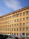 Сытнинская пл., д. 5 / Сытнинская ул., д. 7, лит. А. Фасад со стороны Сытнинской площади. Фото март 2010 г.