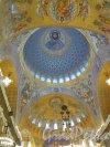 Якорная пл. (Кронштадт), д. 5. Никольский Морской собор, 1903-13. Роспись куполов. фото Ноябрь 2015 г