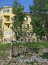 г. Кронштадт, Якорная пл., д. 3, лит. В. Жилой дом, 1936-39. Боковой фасад. фото июнь 2017 г.
