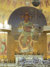 г. Кронштадт, Якорная пл., д. 5. Никольский Морской собор, мозаика в главной апсиде. фото июнь 2017 г.